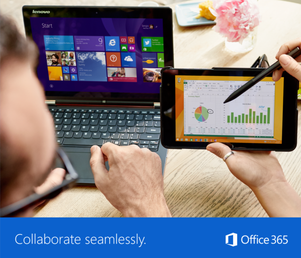 Manage less, do more: Windows 10 and Office 365
