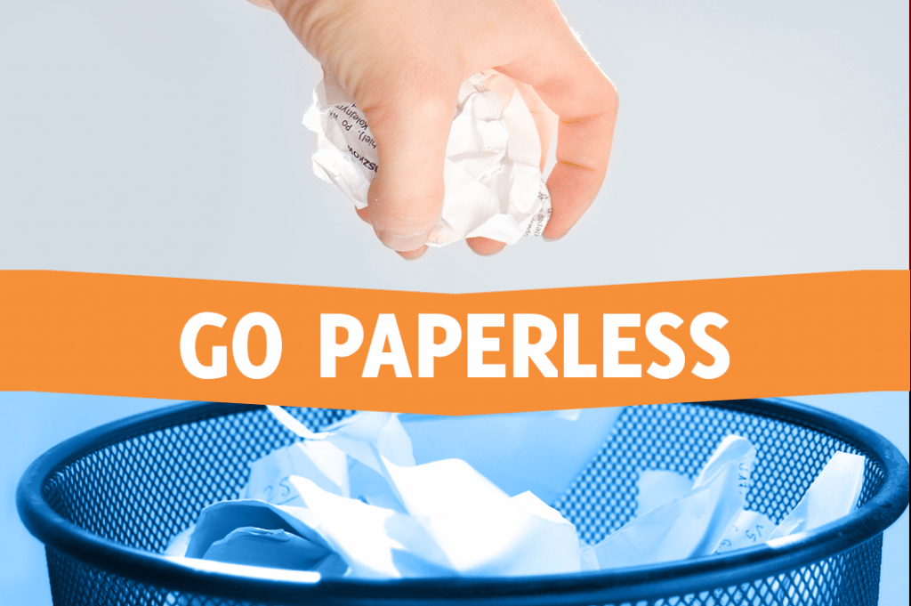 Go paperless in 2018