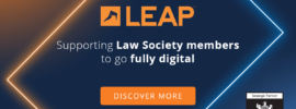 LEAP announces partnership with The Law Society